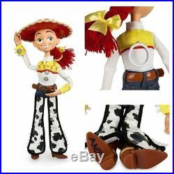 16'' Toy Story 4 Talking Woody Jessie Buzz Lightyear Bo Peep Doll Action