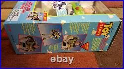 1995 Thinkway / Disney Toy Story Talking Woody & Buzz Lightyear NIB