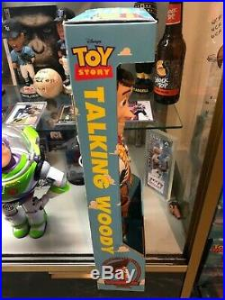 1995 Toy Story Sheriff WOODY 1st Edition SEALED WALMART Sticker MINT Dolls Kids