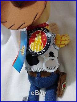 21 LARGE NWT DISNEY Park excl PIXAR TOY STORY COWBOY SHERIFF WOODY Plush Doll