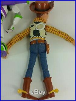 3 Disney Toy Story 15 Talking Doll Woody Jessie And Buzz Lightyear All Work