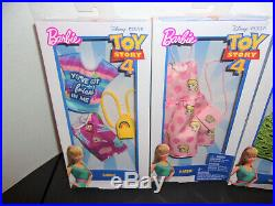 4 Sets Disney Toy Story 4 Barbie Fashion Clothing Outfit Accessories Woody New