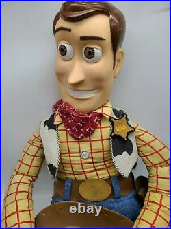 4ft Life Size Toy Story Woody Stuffed Doll Rare 1995 Frito-Lay Promotional