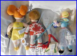 8 Toy Story 4 Plush Beanies Lot Bo Peep Bunny Buzz Duck Duke Forky Gabby Woody