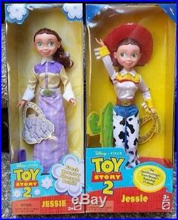 Bo Peep Doll Woody Disney Toy Story 2 Separate Boxes Jessie NRFB Lot 4 VG