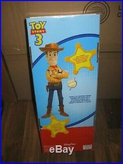 Brand New Toy Story 3 Sheriff PULL STRING TALKING WOODY Dolls Disney Gift