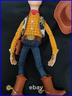 Custom Movie Accurate Toy Story Signature Collection talking Woody doll