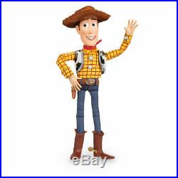 DISNEY Store TOY STORY WOODY Talking Action Figure Doll NEW