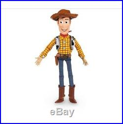 DISNEY Talking Woody Doll Toy Story 4 Interactive Action Figure 35cm NEW Buzz