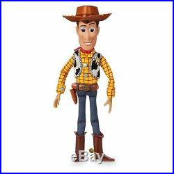 DISNEY Toy Story 4 Talking Woody Doll Interactive Action Figure 35cm GENUINE