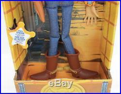DISNEY Toy Story Talking Cowboy Woody & Buzz Lightyear Action Figure Dolls NEW