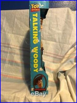Disney 1995 Toy Story Woody Pull String Talking Doll Brand New
