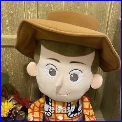 Disney Baby Jumbo Sheriff Woody Plush Pixar Toy Story 36 In Doll Stuffed Animal