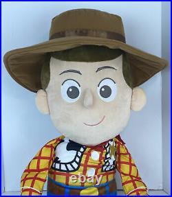 Disney Baby Pixar Toy Story Giant Jumbo Woody 36 Plush 3 Foot Huge Doll