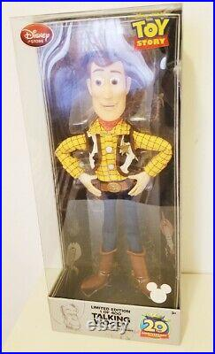 Disney D23 Expo 2015 Toy Story Woody Limited Edition Talking Doll NWT