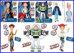 Disney Deluxe Toy Story 4 Buzz Lightyear Sheriff Woody Jessie Action 4+ Doll Fun