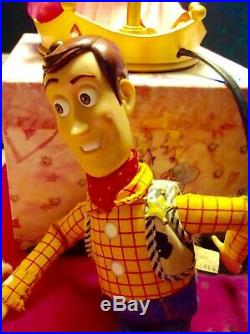 Disney Doll Toy Story 2 Woody Kissed by bo peep Rare. Used minor markings scruff