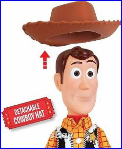Disney Official Licenced Toy Story 16 Sheriff Woody Toy Rag Doll Action Figure