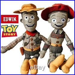 Disney PIXAR TOY STORY X EDWIN WOODY & JESSIE Jesse plush doll stuffed anime