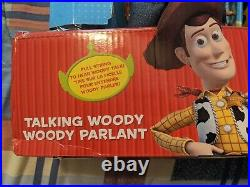 Disney Parks Collectors Talking Woody Jessie Toy Story 3 Pull String 16 Figure