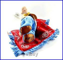 Disney Parks Toy Story Disney Babies Baby Woody Plush Doll Sheriff Blanket 12