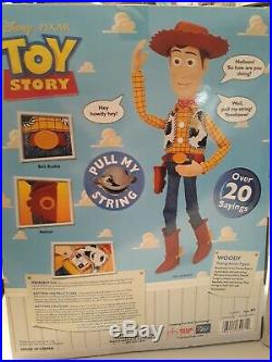 Disney Pixar Buzz and Woody Toy Story Dolls Think Way In Box Never Been Opened