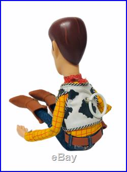 Disney Pixar Thinkway Toy Story Snake in my Boot Pull String Woody Doll
