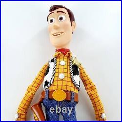 Disney Pixar Thinkway Toys Toy Story Dolls 15 Woody 16 Talk Bullseye 12 Rex
