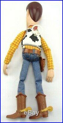 Disney Pixar Thinkway Toys Toy's Story Woody Pull String Works 16