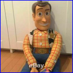 Disney Pixar Toy Story 2 WOODY Jumbo Doll Height 120cm No Hat with Tag from JPN
