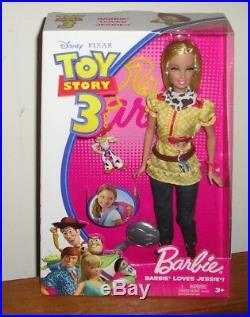 Disney Pixar Toy Story 3 Barbie Loves Woody Jessie Buzz Alien Ken Loves Barbie