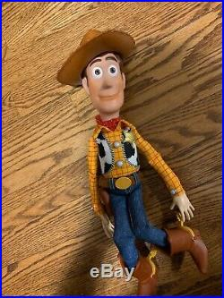 Disney/Pixar- Toy Story 4 CUSTOMIZED Toy Mode Pull String Talking Woody Doll