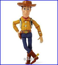 Disney Pixar Toy Story 4 Sheriff Woody Talking Doll Action Figure Brand New NIB