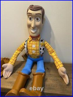 Disney Pixar Toy Story Giant Jumbo Woody 36 Plush 3 Foot Huge Doll Vintage