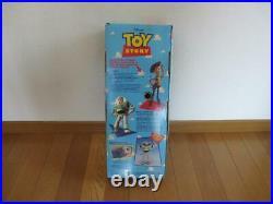 Disney Pixar Toy Story Poseable Pull-String Talking Woody Doll Vintage 1995 JP