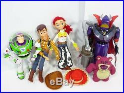 Disney Pixar Toy Story Pull String Talking Woody Jessie Doll Buzz Lotso Bear Lot
