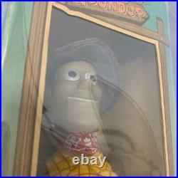 Disney Pixar Toy Story Roundup Epoch Woody Figure Doll Plush Vintage A1