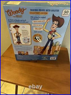 Disney Pixar Toy Story Signature Collection Sheriff Woody Talking Thinkway Doll