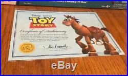 Disney Pixar Toy Story Signature Collection Woody's Horse Bullseye Thinkway COA