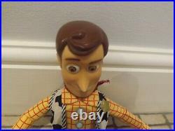 Disney Pixar Toy Story Vintage Pullstring Talking Woody Doll 1996