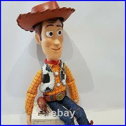 Disney Pixar Toy Story Woody Pull String doll Snake in my Boot Figure