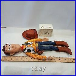 Disney Pixar Toy Story Woody Pull String doll Snake in my Boot Figure christmas