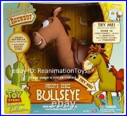 Disney Pixar Toy Story Woody Roundup Talking Horse Bullseye Signature Collection