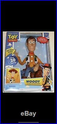 Disney Pixar Toy Story Woody Talking Action Figure (Over 20 Sayings)
