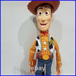 Disney Pixar Toy Story Woody Talking snake in Boot pull string doll p