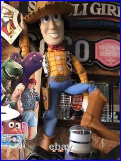 Disney Pixar Toy Story Woody big figure hobby doll used