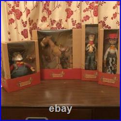 Disney Resort Vintage Toy Story Young Epoch Roundup 4 Set Doll Rare Japan 4