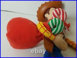 Disney Star Bean Toy Story 2 (christmas Woody) 10 Bean Plush Doll
