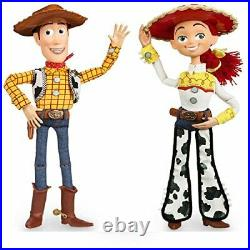 Disney Store Exclusive Toy Story 3 Talking Woody and Jessie Dolls 16 by Disney