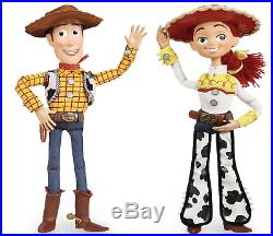 Disney Store Exclusive Toy Story Talking Woody and Jessie Pull String Dolls 16